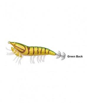 Savage Gear 3D Hybrid Shrimp 9.2cm 21g EGI Jig Glitter 09-Green Back