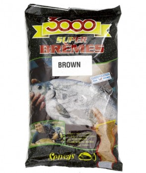 Sensas 3000 Bream Brown 1kg