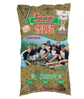 Sensas 3000 Super Lake Bream 1kg