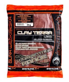 Genlog Clay-Terra Wet Brown and Brown Binding 2kg