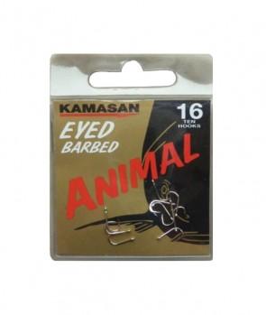 Kamasan Animal Eyed Barbed 10pcs
