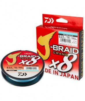 Daiwa J-Braid Grand X8 135m Blue