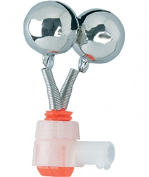 Jaxon Double Bell With Lightstick Slot 15mm ADNCD151M