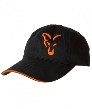 Fox Black / Orange Baseball cap