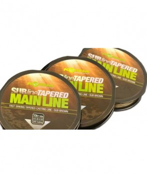 Korda Subline Tapered Mainline Brown 300m /0.30-0.50mm / 10-40lb