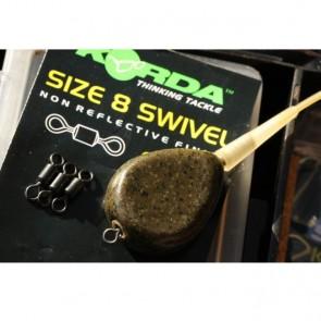 Korda Swivels Size UK8 / No.4