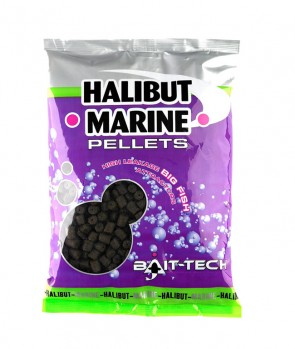 Bait Tech Halibut Marine Pellets