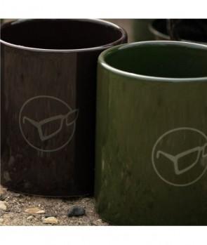 Korda Mug Glasses Logo