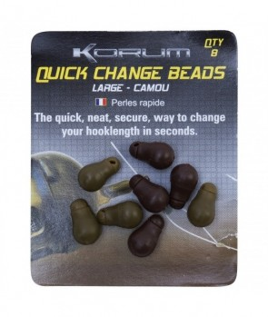 Korum Quick Change Beads Camou