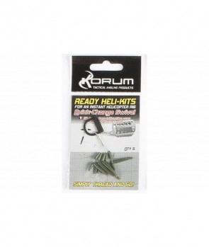 Korum Ready Heli Kits Quickchange Swivel