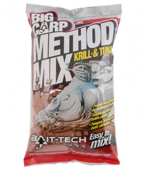 Bait Tech Method Mix Krill & Tuna 2kg