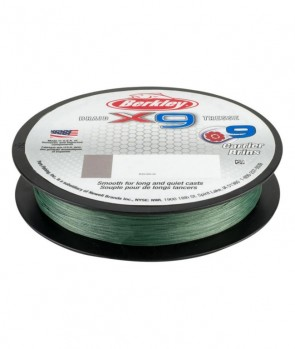 Berkley X9 Braid Low Vis Green 300m