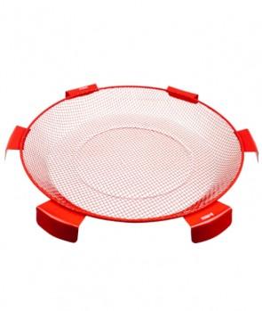 Milo Sito 6 Orecchie Inox Red 45cm