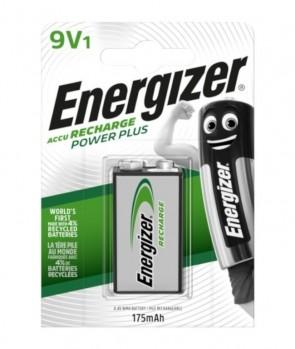 Baterija Punjiva Energizer 6F22 / MN1604 9V 1kom