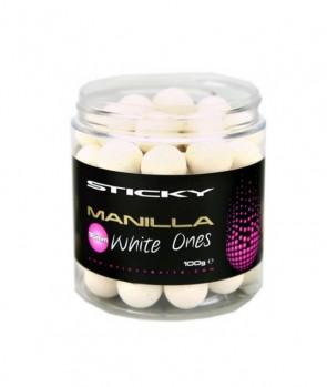 Sticky Baits Manilla White Pop-Ups 100g