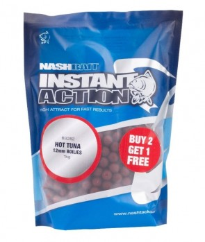Nash Hot Tuna Boilies 1kg