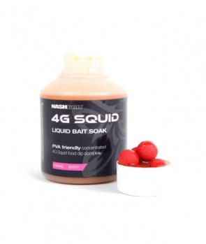 Nash 4G Squid Bait Soak 250ml