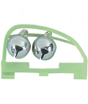 Jaxon Double Bell With Lightstick Slot 15mm ADCH02M