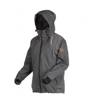 Savage Gear Black Savage Jacket Grey
