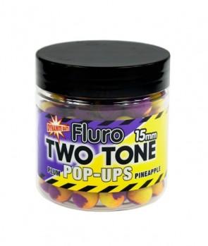 Dynamite Baits Plum & Pineapple Fluro Two Tone Pop-Up 15mm