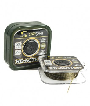 Carp Spirit Reaction Braid 20m Camo Green