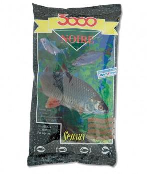 Sensas 3000 Noire Black 1kg