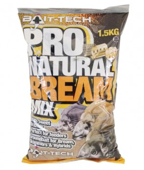 Bait Tech Pro Natural Bream Groundbait 1.5kg