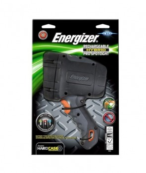 Energizer Rechargeable Hybrid PRO Spotlight Flashlight