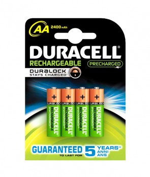 Duracell Baterija MN1500 AA Punjive / 2400mAh