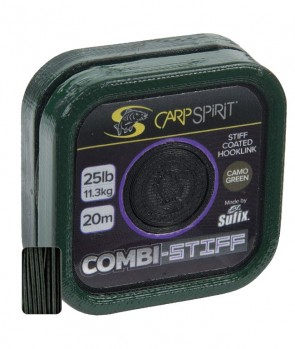 Sufix Carp Spirit Combi Stiff - Coated Braid 20m