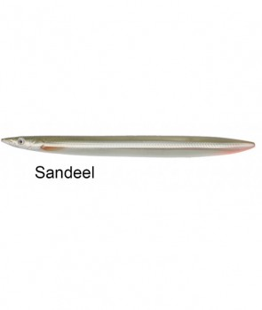 Savage Gear Line Thru Sandeel 85mm 11g 01-Sandeel