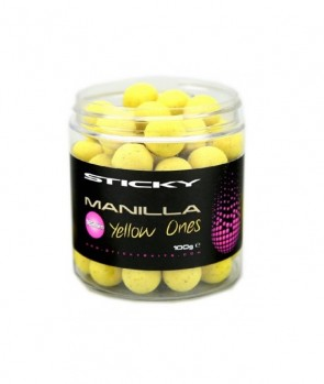 Sticky Baits Manilla Yellow Ones Pop Ups 100g