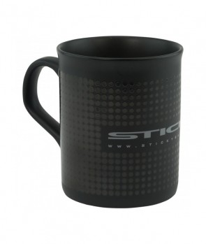 Sticky Baits Matt Black Mug 340ml