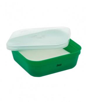 Sensas Green Bait Box With Foam 0.6L