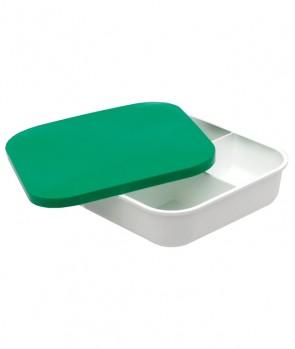 Sensas White 4 Compartment Bait Box 16.5x16.5x4 cm