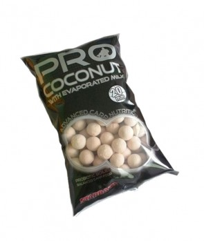 Starbaits Probiotic Boilies Coconut 1kg 14mm