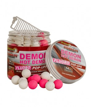 Starbaits Concept Fluo Pop Ups Hot Demon