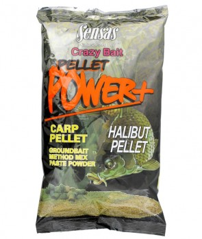 Sensas Crazy Bait Pellet Power Halibut 1kg