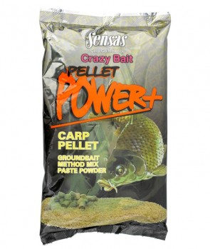 Sensas Crazy Bait Pellet Power Carp 1kg
