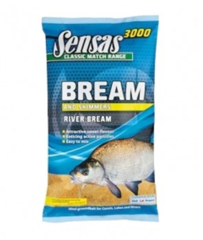 Sensas 3000 Super Bream River 1kg