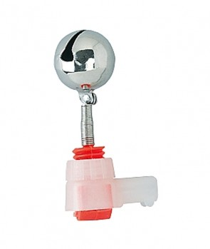 Jaxon Single Bell With Lightstick Slot 15mm