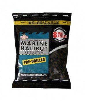Dynamite Baits Marine Halibut Pellets Pre-Drilled 350g