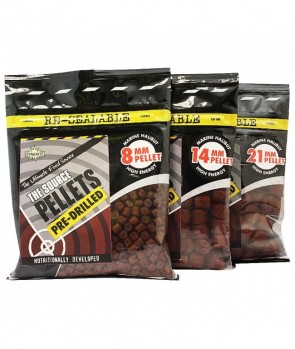 Dynamite Baits Source Pellets Pree-Drilled 350g