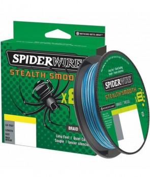 Spiderwire Stealth 8 Smooth Blue Camo 300m