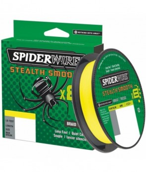 Spiderwire Stealth Smooth 8 Yellow 300m