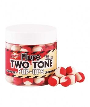 Dynamite Baits Strawberry & Coconut Cream Fluro Two Tone Pop-Up 15mm