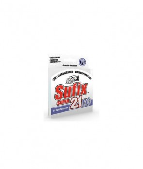 Sufix Fluorocarbon Super 21 FC Cosmetic G2 30 i 50m Clear