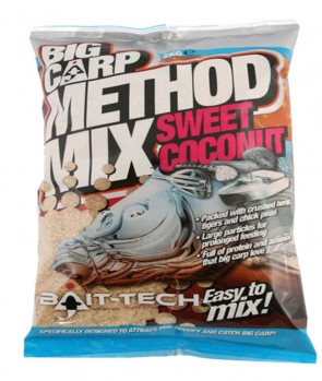 Bait Tech Big Carp Method Mix Coconut 2kg