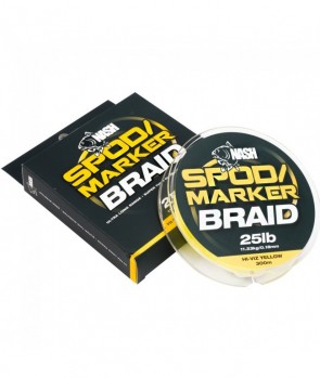 Nash Spod And Marker Braid Hi-Viz Yellow 300m