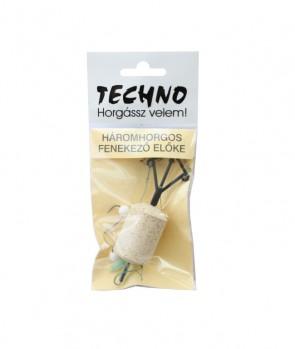 Techno Three Hooks Bottom Rig